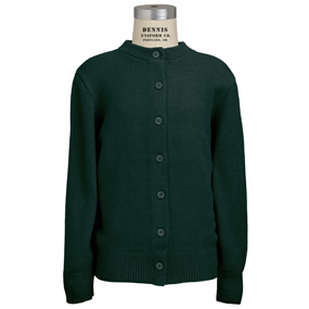 Green Crew Neck with James Madison fiberlok Item # 060000CJ1039